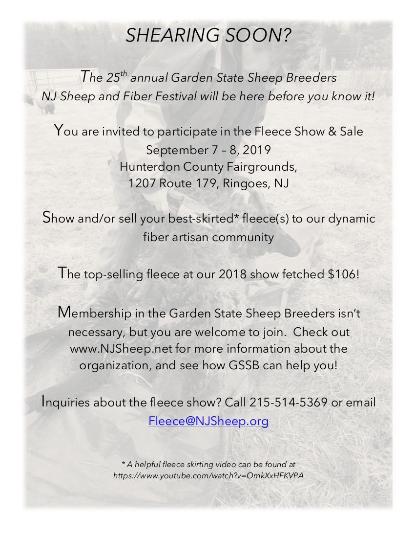 Contests – Garden State Sheep Breeders